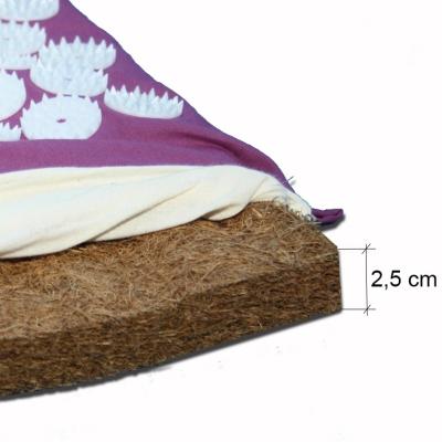 Tapis d'acupression avec fibre de coco